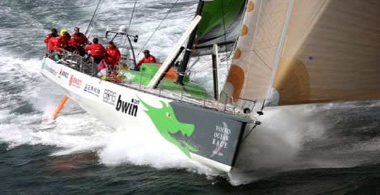 Green Dragon racing in 2009 VOR