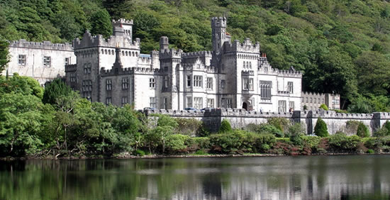 Kylemore Abbey , Connemara